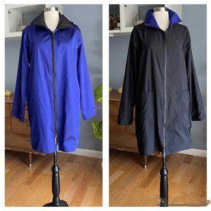 Mycra Pac Now Hooded Raincoat Reversible Zip